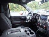 2021 Chevrolet Silverado 1500 LT Double Cab 4x4 Jet Black Interior