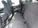 2021 Chevrolet Silverado 1500 Custom Double Cab 4x4 Rear Seat