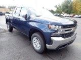 2021 Chevrolet Silverado 1500 LT Double Cab 4x4 Front 3/4 View