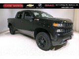 2019 Black Chevrolet Silverado 1500 Custom Z71 Trail Boss Crew Cab 4WD #139709014