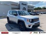 2020 Glacier Metallic Jeep Renegade Sport 4x4 #139720555