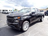 2020 Black Chevrolet Silverado 1500 Custom Double Cab 4x4 #139720448