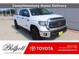 2021 Super White Toyota Tundra SR5 CrewMax 4x4 #139720511