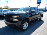 2020 Black Chevrolet Silverado 1500 Custom Double Cab 4x4 #139738491