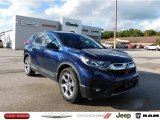 2017 Obsidian Blue Pearl Honda CR-V EX-L AWD #139759571