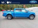 2020 Velocity Blue Ford F150 XLT SuperCrew 4x4 #139759507