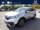 2020 Lunar Silver Metallic Honda CR-V EX AWD #139802055
