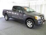 2007 Smoke Gray Nissan Titan SE King Cab 4x4 #13889708