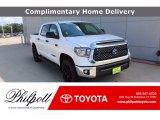 2021 Super White Toyota Tundra SR5 CrewMax 4x4 #139848557