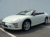 2003 Dover White Pearl Mitsubishi Eclipse Spyder GT #13941382