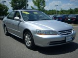 2002 Satin Silver Metallic Honda Accord EX Sedan #13879129