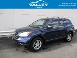 2010 Royal Blue Pearl Honda CR-V EX AWD #139878687