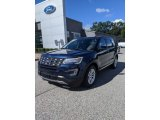 2017 Blue Jeans Ford Explorer XLT #139878965