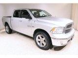 2014 Bright Silver Metallic Ram 1500 Big Horn Crew Cab 4x4 #139936230