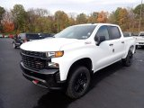 2021 Summit White Chevrolet Silverado 1500 Custom Trail Boss Crew Cab 4x4 #139936081