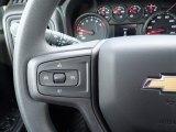 2021 Chevrolet Silverado 1500 Custom Double Cab 4x4 Steering Wheel
