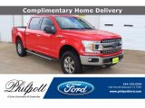 2018 Race Red Ford F150 XLT SuperCrew 4x4 #139985338