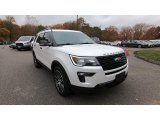 2019 Oxford White Ford Explorer Sport 4WD #139991563