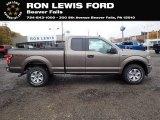 2020 Stone Gray Ford F150 XLT SuperCab 4x4 #139991368
