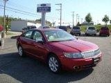 2007 Vivid Red Metallic Lincoln MKZ AWD Sedan #13885991