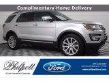 2016 Ingot Silver Metallic Ford Explorer Limited 4WD #140028093