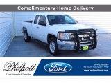 2012 Summit White Chevrolet Silverado 1500 LS Extended Cab #140064249