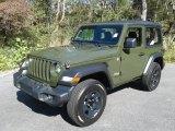 2021 Jeep Wrangler Sarge Green