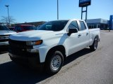 2021 Summit White Chevrolet Silverado 1500 WT Double Cab 4x4 #140095269
