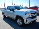 2021 Chevrolet Silverado 1500 RST Double Cab 4x4 Front 3/4 View