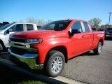 2021 Red Hot Chevrolet Silverado 1500 LT Double Cab 4x4 #140095264