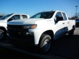 2021 Summit White Chevrolet Silverado 1500 WT Double Cab #140095262