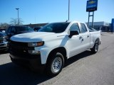 2021 Summit White Chevrolet Silverado 1500 WT Double Cab #140095257