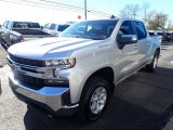 Silver Ice Metallic Chevrolet Silverado 1500 in 2021
