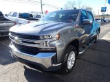 Satin Steel Metallic Chevrolet Silverado 1500 in 2021