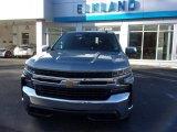 2021 Satin Steel Metallic Chevrolet Silverado 1500 LT Crew Cab 4x4 #140105445