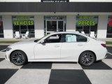 2019 Mineral White Metallic BMW 3 Series 330i Sedan #140105574