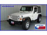 2006 Stone White Jeep Wrangler X 4x4 #13944237