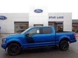 2020 Velocity Blue Ford F150 XLT SuperCrew 4x4 #140175356