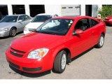 2007 Victory Red Chevrolet Cobalt LT Sedan #13897411