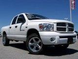 2007 Bright White Dodge Ram 1500 Sport Quad Cab 4x4 #13927299
