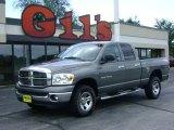 2007 Mineral Gray Metallic Dodge Ram 1500 SLT Quad Cab 4x4 #13885081