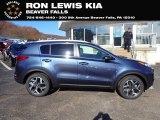 2021 Kia Sportage Pacific Blue