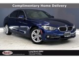 2017 Mediterranean Blue Metallic BMW 3 Series 330e iPerfomance Sedan #140188935