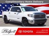 2019 Super White Toyota Tundra TSS Off Road CrewMax 4x4 #140211987