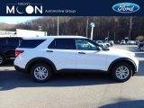 2021 Ford Explorer Oxford White