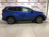 2021 Aegean Blue Metallic Honda CR-V EX AWD #140231084