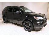 2019 Agate Black Ford Explorer XLT 4WD #140241068