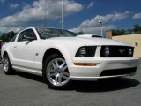 2007 Performance White Ford Mustang GT Premium Coupe #13927303
