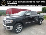 2019 Diamond Black Crystal Pearl Ram 1500 Limited Crew Cab 4x4 #140281379