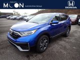 2021 Aegean Blue Metallic Honda CR-V EX-L AWD #140288110